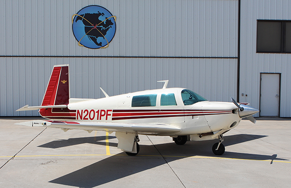 We Have Added a Mooney to Our Rental Aircraft Fleet!